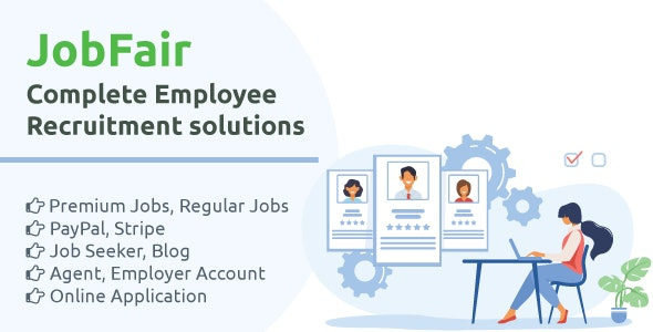 JobFair - Employee recruitment solutions - CodeCanyon Item for Sale