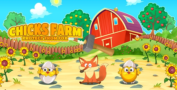 Chicks Farm Protect From Fox (CAPX and HTML5) - CodeCanyon Item for Sale