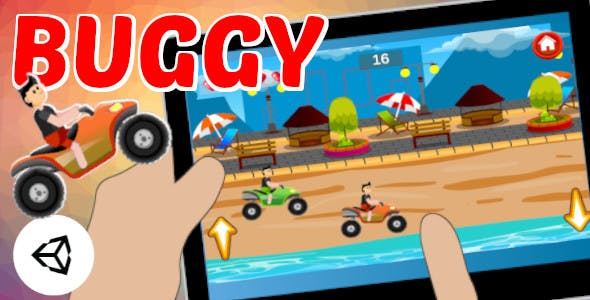 Buggy | Car and Sport Game | Unity Complete Project for Android and iOS