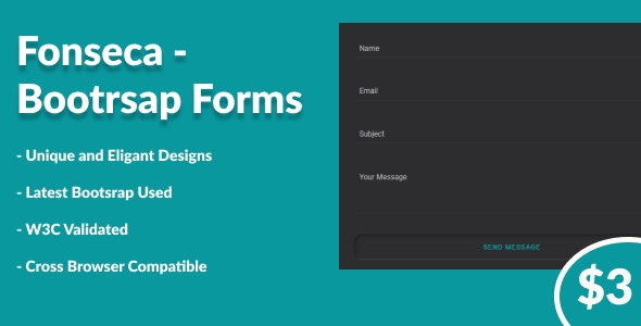 Fonseca - Bootstrap Forms - CodeCanyon Item for Sale