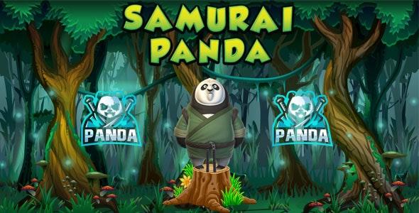 Samurai Panda - HTML5 Game (Construct 2 & Construct 3) + Admob Documentation - CodeCanyon Item for Sale