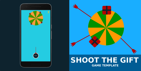 Shoot The Gift Game Template - CodeCanyon Item for Sale