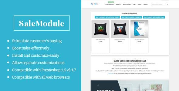 Leo Boost Sales Prestashop Module