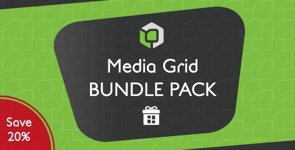 Media Grid - WordPress Bundle Pack - CodeCanyon Item for Sale