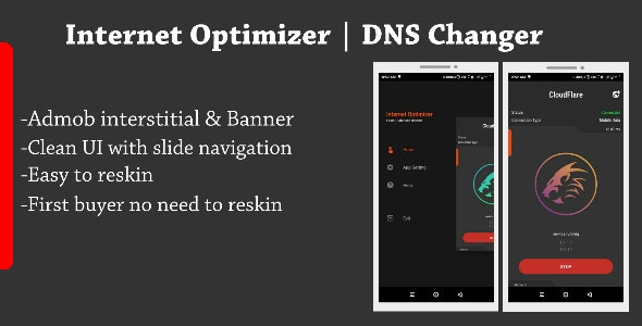 Internet Optimizer - DNS Changer - CodeCanyon Item for Sale