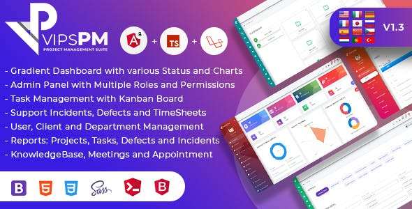 VipsPM - Project Management Suite