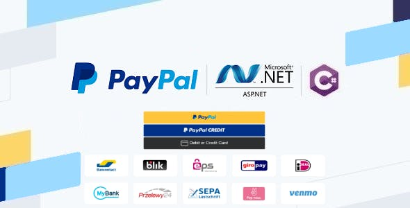 PayPal Checkout in ASP.NET Web Forms & C#, Using Orders v2 REST API, Server-side Integration