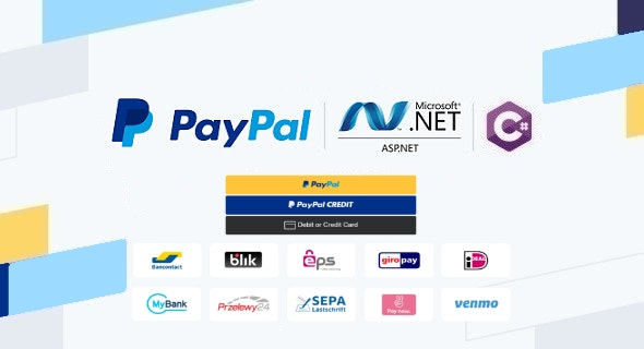PayPal Checkout in ASP.NET Web Forms & C#, Using Orders v2 REST API, Server-side Integration - CodeCanyon Item for Sale