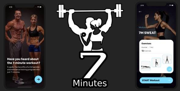 Workout App -  Daily 7 Minute Workout App