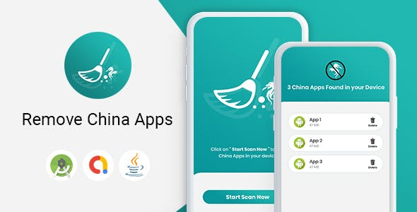 China Apps Detector - Android App with Admob