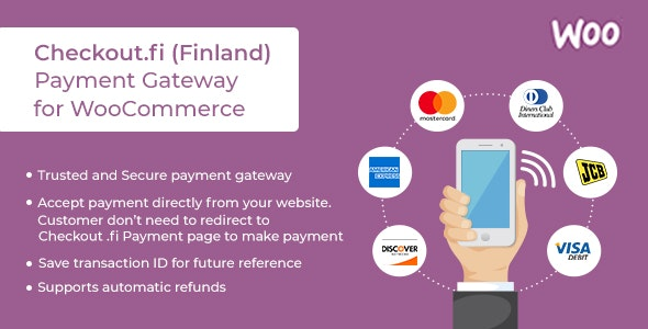 Checkout.fi (Finland) Payment Gateway WooCommerce Plugin - CodeCanyon Item for Sale