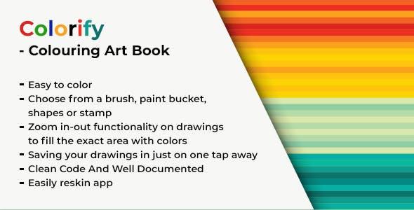 Colorify - Colouring Art Book
