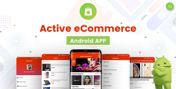 Active eCommerce Android App