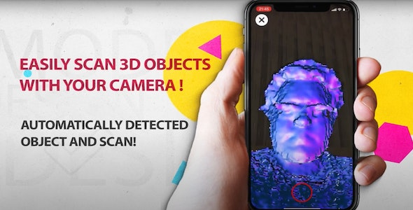 3D Scanner - CodeCanyon Item for Sale