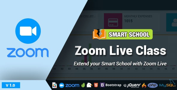Smart School Zoom Live Class - CodeCanyon Item for Sale