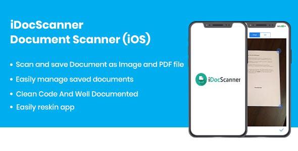 iDocScanner - Document Scanner (iOS)