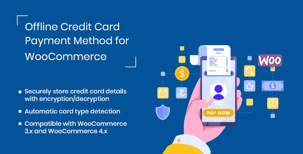 Offline Credit Card Payment Method for WooCommerce