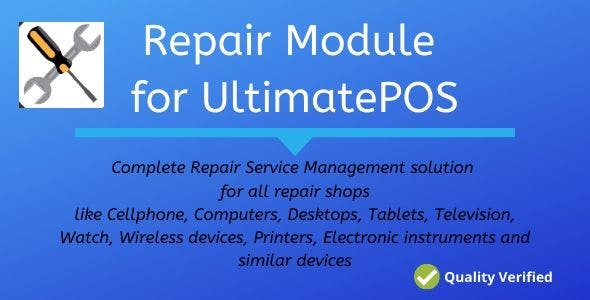 Advance Repair module for UltimatePOS