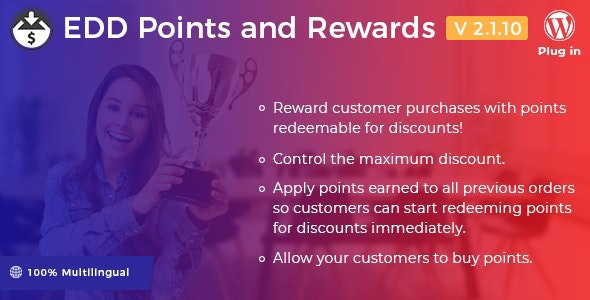 Easy Digital Downloads - Points and Rewards - CodeCanyon Item for Sale