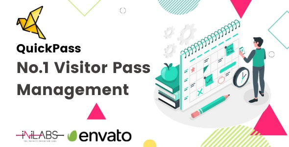 QuickPass: Visitor Pass Management System - CodeCanyon Item for Sale