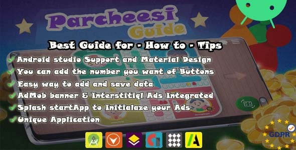 Parcheesi Guide How To tips Unique app - CodeCanyon Item for Sale