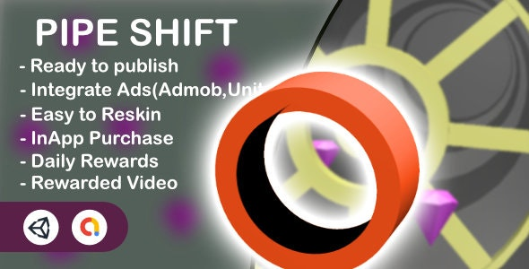 Pipe Shift - 3D Game(Unity Game+Admob+iOS+Android) - CodeCanyon Item for Sale