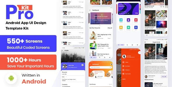 Prokit - Biggest Android UI Kit - CodeCanyon Item for Sale
