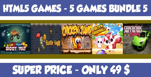 Casual 5 games - Bundle 5 - CodeCanyon Item for Sale