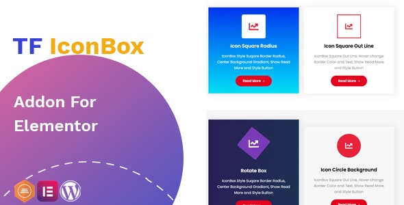 Icon Box Widget for Elementor - CodeCanyon Item for Sale