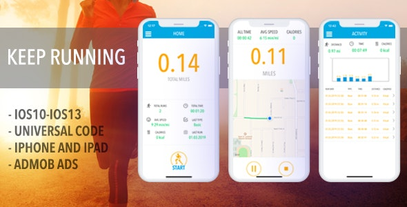 RunTheMap - Run And Walk Tracker - CodeCanyon Item for Sale