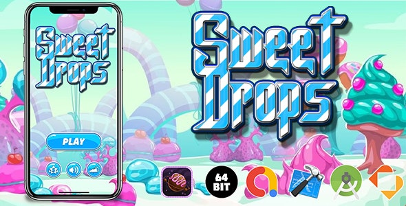 Sweet Drops Game Template - CodeCanyon Item for Sale