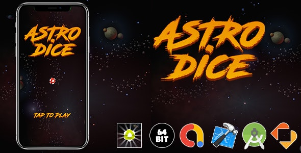 Astrodices Game Template - CodeCanyon Item for Sale