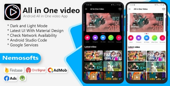 All In One Videos Apps - CodeCanyon Item for Sale