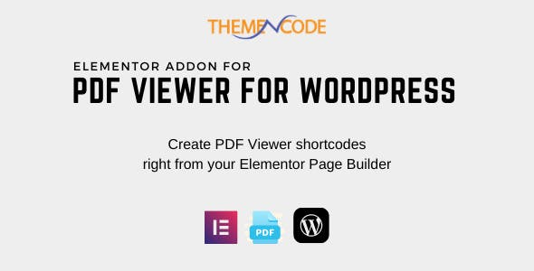 Elementor PDF Viewer for WordPress Addon