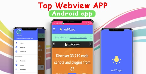 Advanced WebView | Android Website To App - CodeCanyon Item for Sale