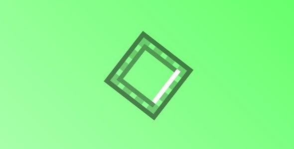Snake Border Page Loading Animation