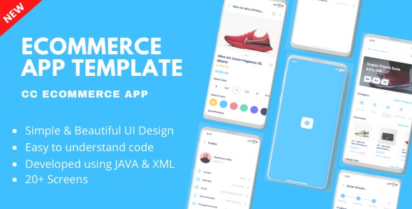 CC Ecommerce App - Android Online Shopping App Template - CodeCanyon Item for Sale