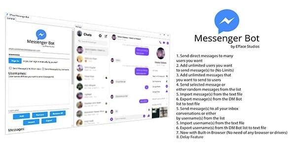 Efface Messenger Bot