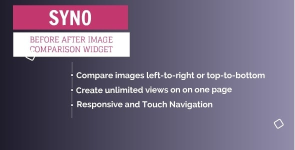 SYNO Before After Image Comparison Plugin - CodeCanyon Item for Sale