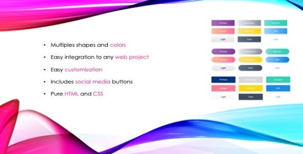 Divstack Responsive CSS3 Gradient Buttons