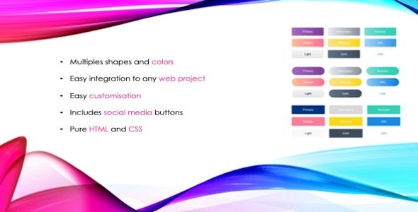 Divstack Responsive CSS3 Gradient Buttons - CodeCanyon Item for Sale