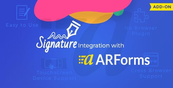 Signature Addon for Arforms