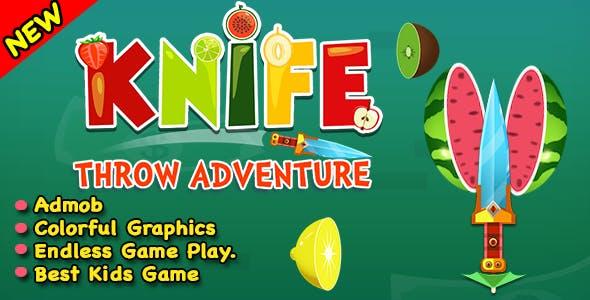 Knife Throw Adventure + Ninja Knife + IOS