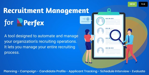 Recruitment Management for Perfex CRM - CodeCanyon Item for Sale