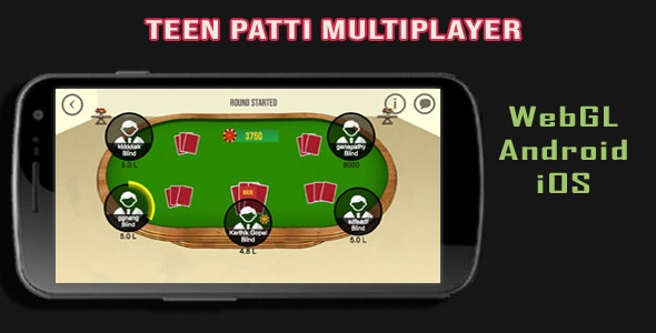 Casino TeenPatti Multi-Player Game - CodeCanyon Item for Sale