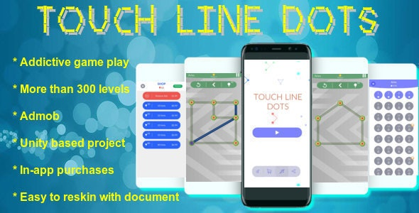 Touch Line Dots - CodeCanyon Item for Sale