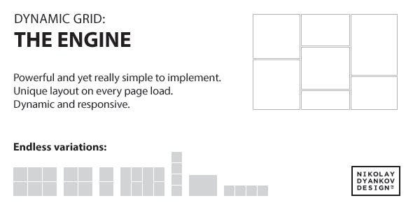 jQuery Dynamic Grid: The Engine