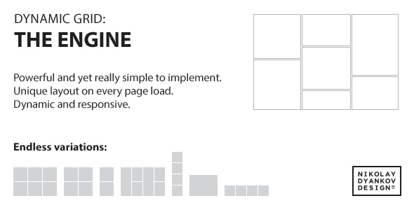 jQuery Dynamic Grid: The Engine - CodeCanyon Item for Sale