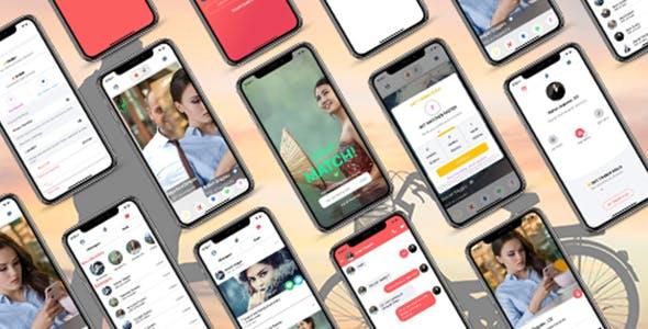 ionic 5 tinder app clone / dating app clone