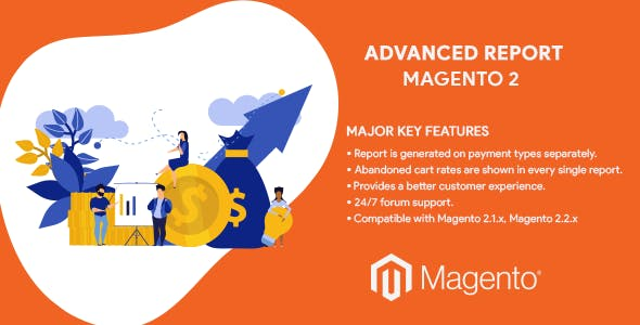 Advanced Report Magento 2 Extension